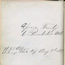 Image of 39 1884 C. Pemberton, M.D.