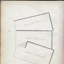 Image of 84 1879 Henrietta, Lillie, Bertha Kammann