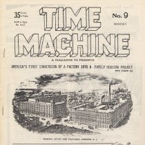 Image of Time Machine Magazine No. 9; front cover