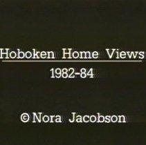Image of Digital video disk: Hoboken Home Views 1982-1984. By Nora Jacobson. - Videodisc, Digital