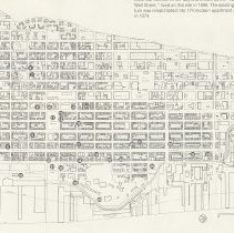 Image of detail back, map