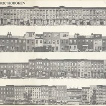 Image of Poster version: Hoboken Historic Sites Walking Tour. May 1976. Issuing organization is not named, but probably the Hoboken Environment Committtee. - Poster