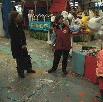 Image of Color photos, 27, of Macy's Parade Studio during media open house, Hoboken, Nov. 11, 2006. - Photograph