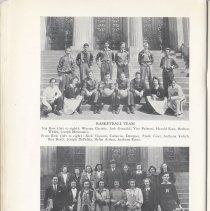 Image of pg 40 Basketball Team; Tennis Club