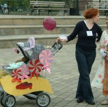 Image of Digital color print of the 2006 Hoboken Baby Parade taken by Hartshorn Studio, May 15, 2006. - Print, Photographic