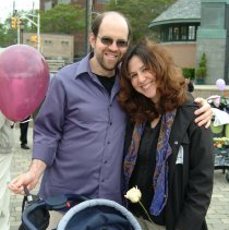 Image of Digital color print of the 2006 Hoboken Baby Parade taken by Hartshorn Photography, May 15, 2006. - Print, Photographic