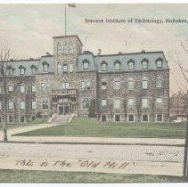 Image of Postcard: Stevens Institute of Technology, Hoboken, N.J. Postmarked Sept. 29, 1909. - Postcard