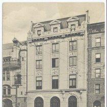Image of Postcard: Elk's Club House, Hoboken, N.J. Postmarked Feb. 8 [no year]; circa 1906-1907. - Postcard
