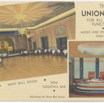 Image of Postcard: The Union Club for all Social Functions. [6th & Hudson Streets, Hoboken, N.J.] - Postcard