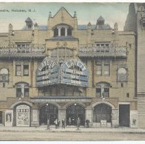 Image of Postcard: Gayety Theatre, Hoboken, N.J. Postmarked July 21, 1914. - Postcard