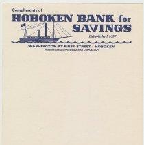 Image of Hoboken Bank for Savings