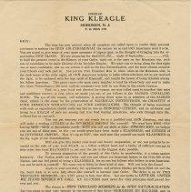 Image of KKK form letter