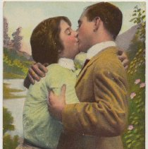 Image of Postcard: [Humor] Welcome to Hoboken, N.J.  Postmarked April 24, 1913. - Postcard