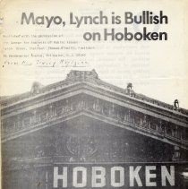 Image of Article: Mayo, Lynch is Bullish on Hoboken. By Donald DeMaio, Center for Analysis of Public Issues, Princeton, N.J. Feb. 1977. - Documents