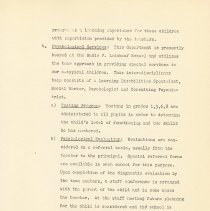 Image of pg 11: Psychological Services; Testing; Evaluation
