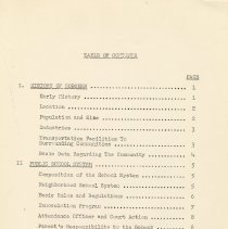 Image of pg [v] table of contents
