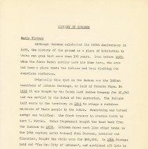 Image of pg 1 History of Hoboken; Early History