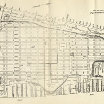 Image of Map of Hoboken prepared for the Hoboken Chamber of Commerce, October 15, 1930. - Map