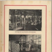 Image of inside back cover: 2 factory interior photos