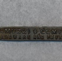 Image of Bottle / can opener from C. Muzzi, Hardware & Paints, 104-106 Jefferson St, Hoboken. - Opener, Bottle