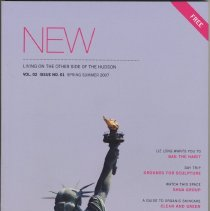 Image of New. Living on the Other Side of the Hudson. Volume 2, Number 1. Spring Summer 2007. - Periodical