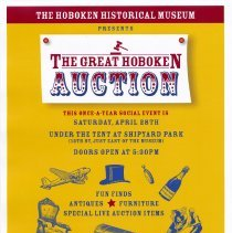 Image of Small poster for The Great Hoboken Auction, Saturday, April 28, 2007. - Handbill