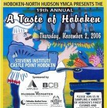 Image of Poster: 19th Annual, A Taste of Hoboken. Stevens Institute, Castle Point, Hoboken, Nov. 2, 2006. - Poster