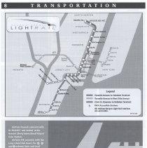 Image of pg 8  light rail + PATH map