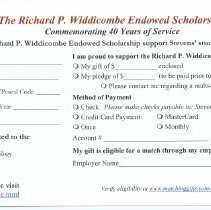 Image of pledge card
