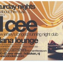 Image of Handbill for Lana Lounge, 90-92 River Street, Hoboken, (2007). - Handbill