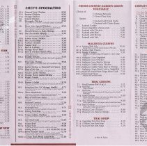 Image of Chinese cuisine inside