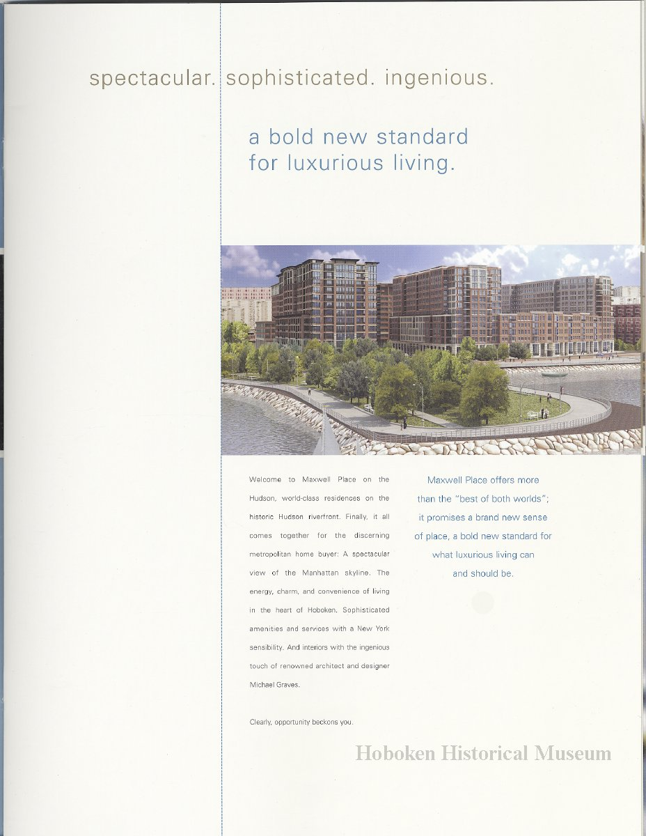 Maxwell place on the hudson sales brochure for 1125 for 1125 maxwell place floor plans