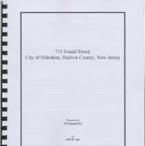 Image of Schmalz Bakery report: Historical Survey, 715 Grand Street (later Wonder Bread), Hoboken, April 2007. - Report