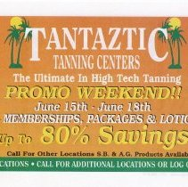 Image of 31 front Tantaztic Tanning