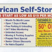Image of 37 back American Self-Storage