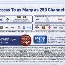 Image of 38 back DirectTV