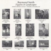 Image of Raymond Smith, Figures and Landscapes. Sales promotion sheet. HHM, September 23 - November 4, 2007. - Checklist