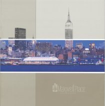 Image of Maxwell Place on the Hudson. Sales brochure for 1125 Maxwell Place. PT Maxwell, LLC (Hoboken), 2006-2007. - Brochure