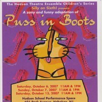Image of Postcard: The Hudson Theatre Ensemble Children's Series, Silly on Sixth! presents Puss in Boots. Oct. 6, 7, 13, 2007. - Postcard