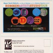 Image of Postcard: Hoboken Artists Studio Tour, Sunday Oct. 21, 2007. - Postcard