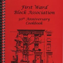 Image of First Ward Block Association 30th Anniversary Cookbook. - Book
