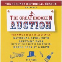 Image of Postcard announcement: The Great Hoboken Auction, April 28, (2007). - Postcard