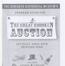 Image of Program: The Great Hoboken Auction, April 28, (2007). - Program