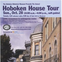 Image of Poster: HHM Annual House Tour, Sunday, October 28, [2007]. - Poster