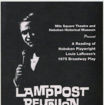 Image of Postcard: Reading of LaRusso play Lamppost Reunion at HHM, May 18, 19, 2007. - Postcard