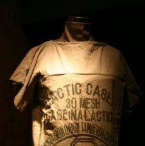 Image of shirt on exhibit