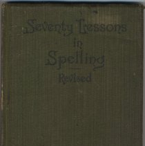 Image of Seventy Lessons in Spelling. Revised. - Book, Instruction