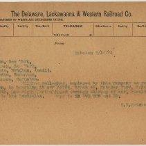 Image of Doc 3: typed telegram