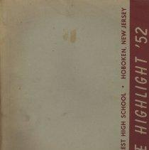 Image of The High Light. June 1952. Yearbook for June class. Demarest High School, Hoboken. - Yearbook