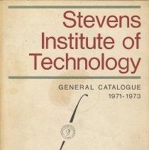Image of Stevens Institute of Technology [Hoboken], General Catalogue 1971-1973. - Catalog